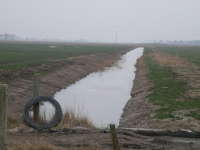 Mittelgraben 1 im Osterkoog fertig profiliert